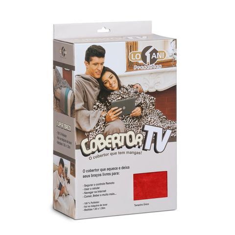 Imagem de Cobertor Tv Com Mangas Solteiro Macio Fofinho Inverno