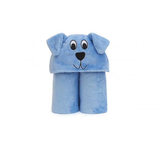 Imagem de Cobertor TV Infantil Cachorrinho - Azul - Loani