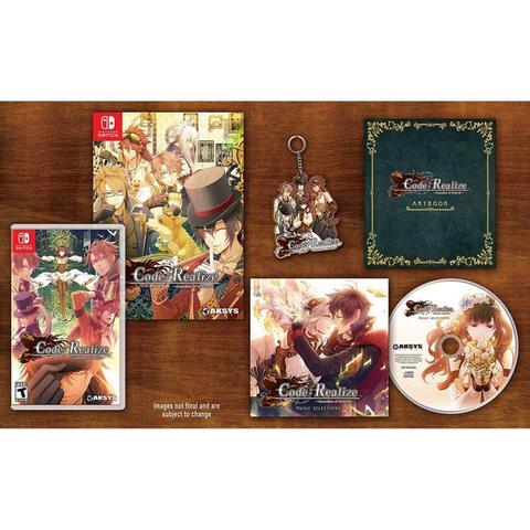 Imagem de Code: Realize Guardian Of Rebirth Collectors Edition - Switch