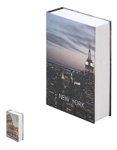 Imagem de Cofre Camuflado Com Chave Livro Porta Joias Dinheiro Grande