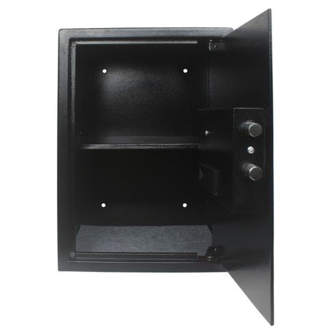 Imagem de Cofre Digital Eletrônico Leitor Biométrico Chave Senha 50fpn - Tssaper