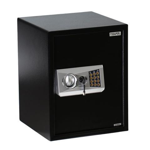 Imagem de Cofre Eletrônico 45cm Com Prateleira e 2 Chaves (45x35X35cm) E45db