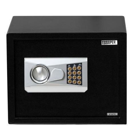 Imagem de Cofre Eletrônico Digital 30cm Com Prateleira e 2 Chaves (30x38X30cm) E30db