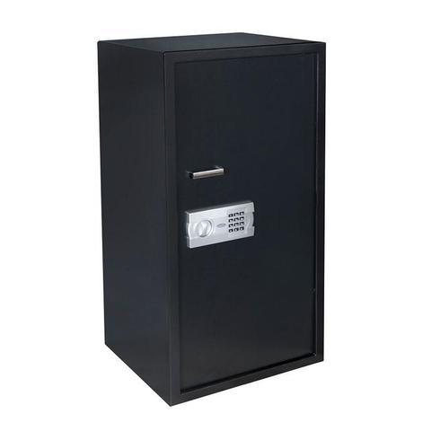 Imagem de Cofre Eletrônico Digital Aço Com Senha e Chave 100 EG Menno