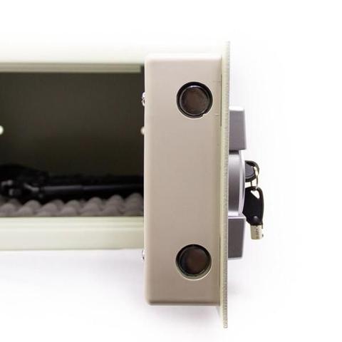 Imagem de Cofre Eletrônico Digital Aço Com Senha e Chave 20 EG Menno