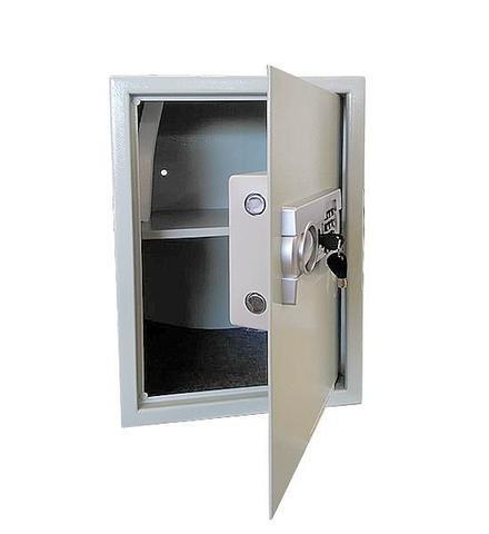 Imagem de Cofre Eletrônico Digital Aço Com Senha e Chave 50 EG Menno