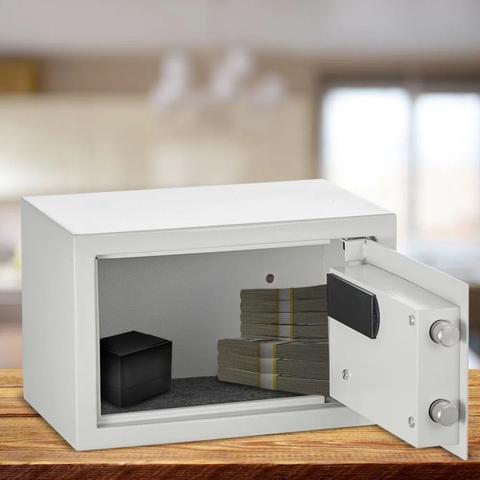 Imagem de Cofre Eletrônico Digital Grande 31x20x20 Aço Senha ou Chave