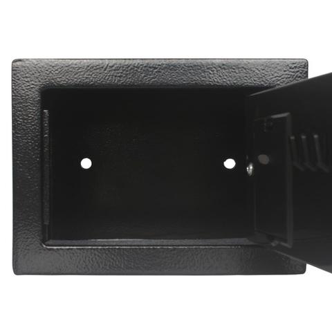 Imagem de Cofre Eletrônico Digital Teclado Com Senha + 2 Chaves E17st