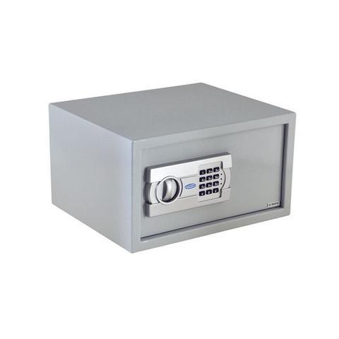 Imagem de Cofre Eletrônico Digital Teclado Senha 2 Chaves 23 EG Menno