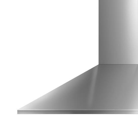 Imagem de Coifa de Parede Brastemp 60 cm Inox piramidal 4 bocas com duplo filtro