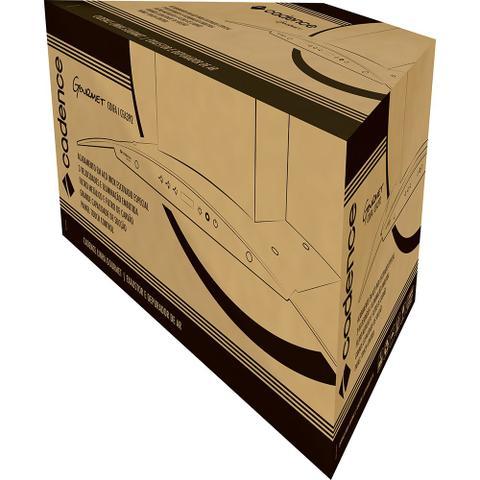 Imagem de Coifa de Parede Cadence Curvature Black 90cm Touch