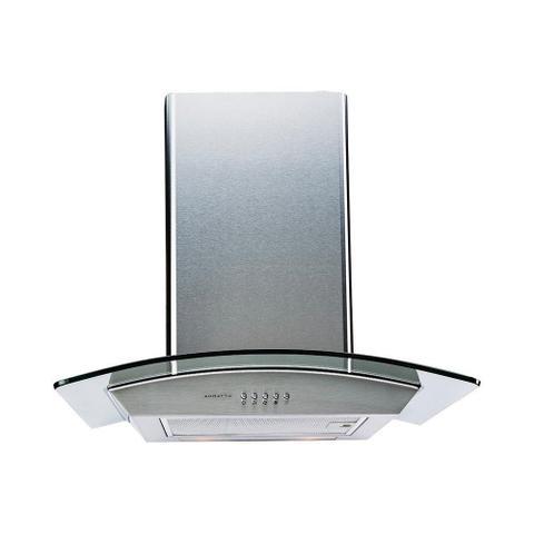 Imagem de Coifa Parede 60cm Inox e Vidro Iluminação Led 220v