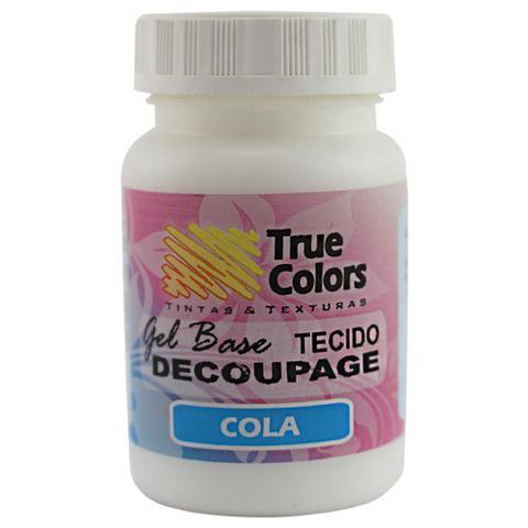 Imagem de Cola Gel Base Decoupage Tecido True Colors 80ml