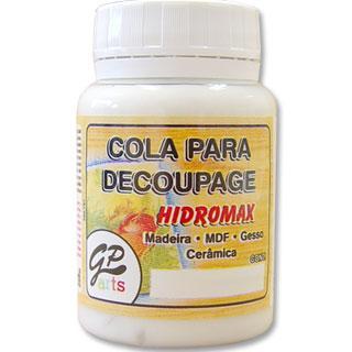 Imagem de Cola para Decoupage Hidromax Madeira Gato Preto 250 ml