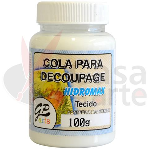 Imagem de Cola para Decoupage Hidromax Tecido Gato Preto 250 ml