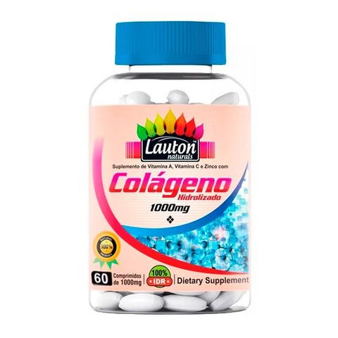 Imagem de Colágeno Hidrolisado 1000mg - 60 Comprimidos - Lauton