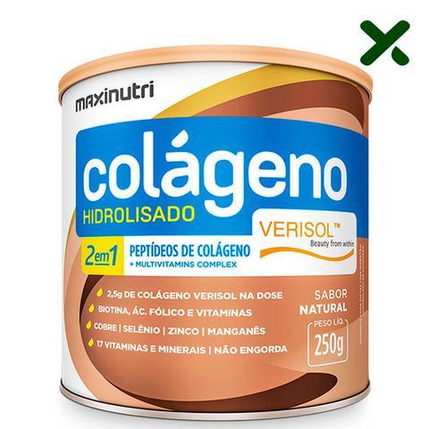 Imagem de Colágeno Hidrolisado 2 em 1 Verisol Natural 250g Loja Maxinutri