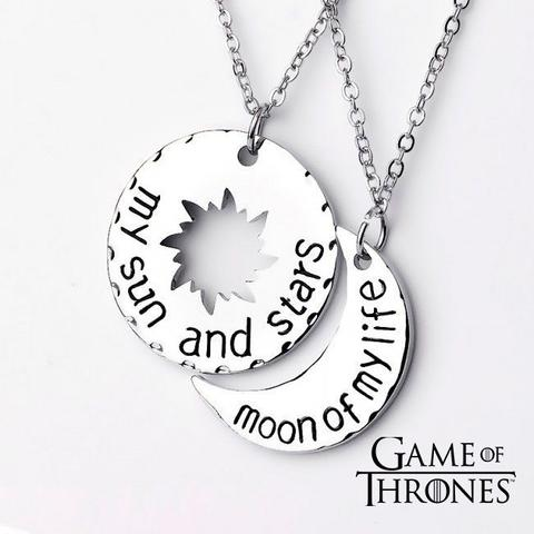 Imagem de Colar Game of Thrones Moon of my life Metal
