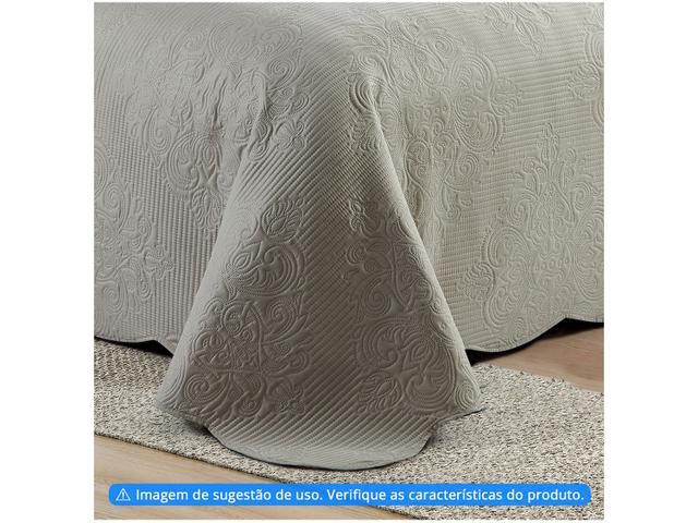 Imagem de Colcha Solteiro Camesa Poliéster 150 Fios