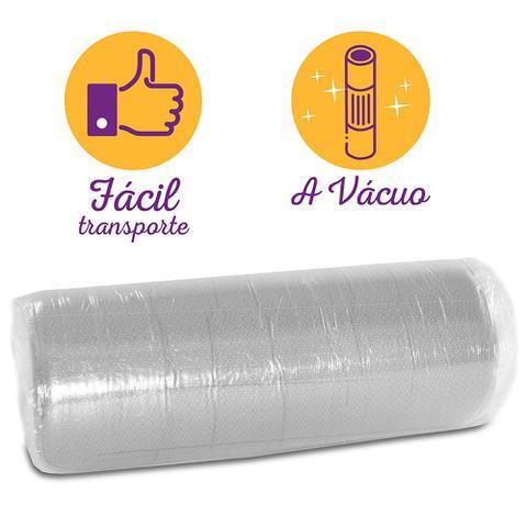Imagem de Colchão Casal Espuma D33 A Vácuo Ortopédica Certificada BF Colchões 138x188x17cm
