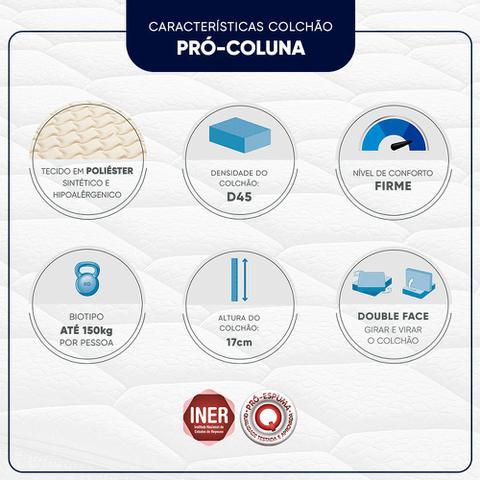 Imagem de Colchão Casal Espuma D45 Americanflex Pro Coluna II 138x188x17cm