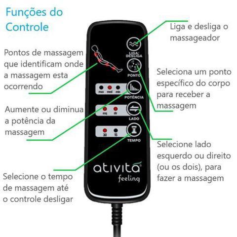 Imagem de Colchão Casal (Kit Massageador)D45+Box - Suede Marrom 158x198