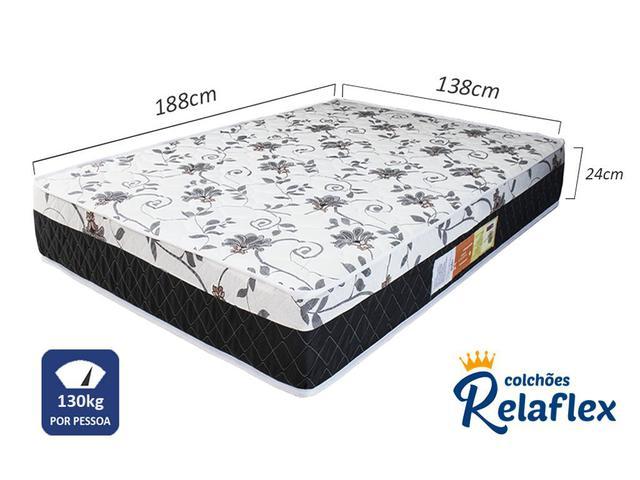 Imagem de Colchão Casal Noble Relaflex 138x188x24 Ortopédico