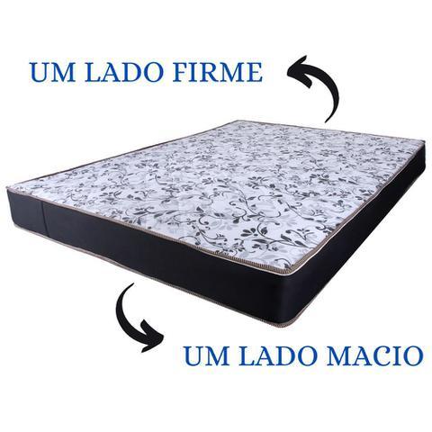 Imagem de Colchão Casal UM LADO MACIO OUTRO LADO FIRME 1,88x1,38x0,17