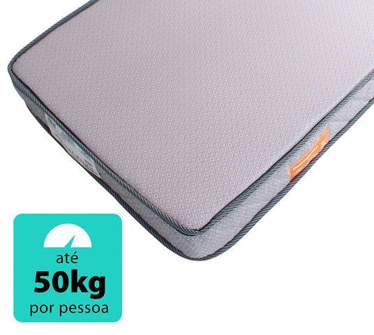 Imagem de Colchão D20 Mini Cama Montessoriano Espuma Selada Antialérgico Infantil 148x68x12cm