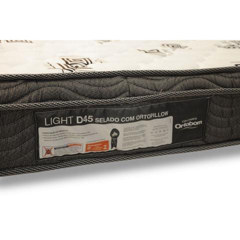 Imagem de Colchão de Espuma D45 Light Ortobom Casal 138