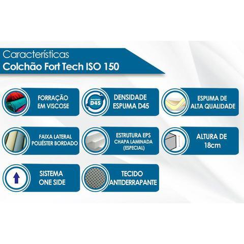 Imagem de Colchão Ortobom D45 Fort Tech ISO 150 18cm Casal 138