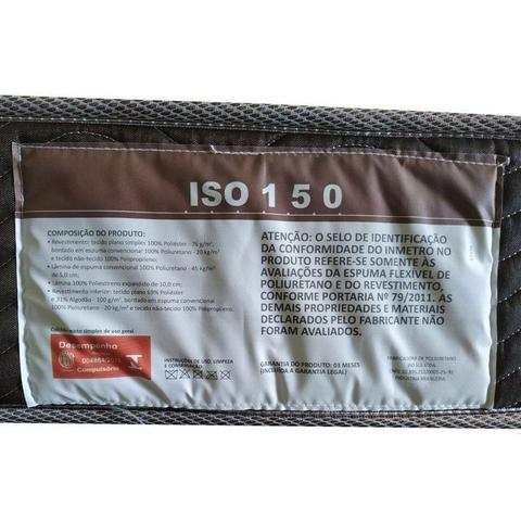 Imagem de Colchão Ortobom D45 Fort Tech ISO 150+Cama Box Casal 138
