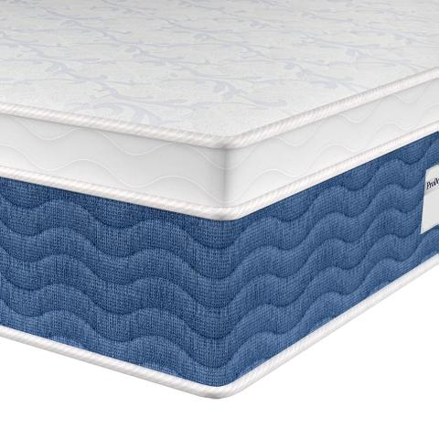 Imagem de Colchão Queen Molas Bonnell Mistic (34x158x198) Branco e Azul