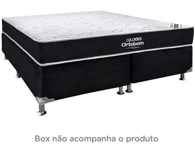 Imagem de Colchão Queen Size Ortobom Mola e Espuma
