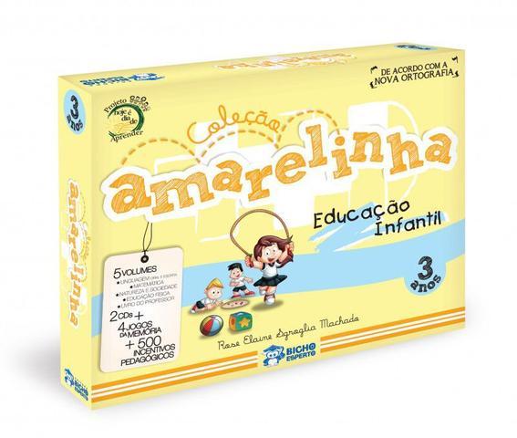 Imagem de Coleção Amarelinha 3 + 4 + 5 Anos - Educação Infantil