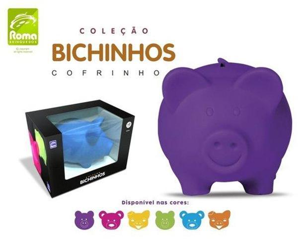 Imagem de Coleção Bichinhos Porco Cofrinho - Roma Brinquedos