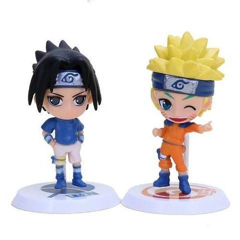 Imagem de Coleção Bonecos Mini Funko Naruto Sasuke Kakashi Sakura 12un