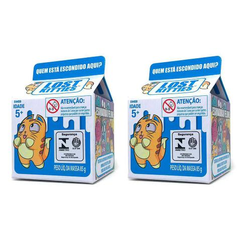 Imagem de Colecao  Com 2 Mini Figuras Surpresa - Lost Kitties - Single Packs - Hasbro