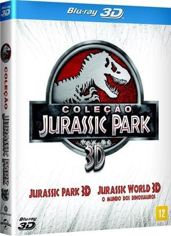 Imagem de Coleçao Jurassic Park (Blu-Ray 3D)