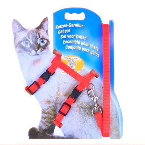 Imagem de Coleira Para Gatos + Guia Específica Passeio Pet e Pets
