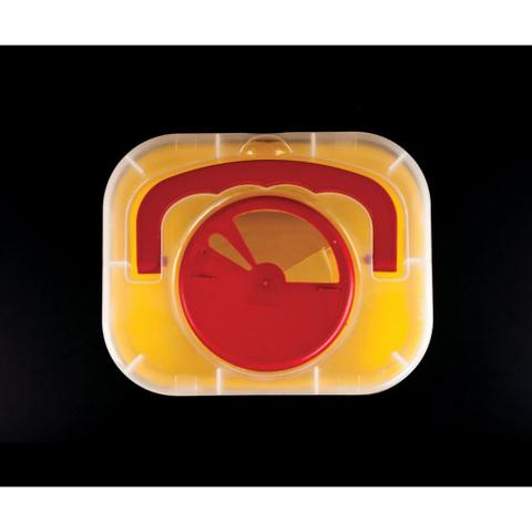 Imagem de Coletor De Material Perfuro Cortante Labor Import 3 Litros