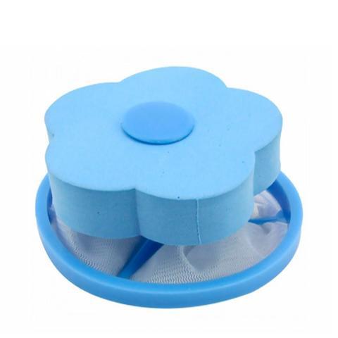 Imagem de Coletor De Pelos Fiapos Flutuante Reutilizável Maquina Lavar