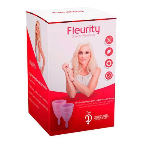 Imagem de Coletor Menstrual Fleurity Tipo 1 Interno 2 Unidades