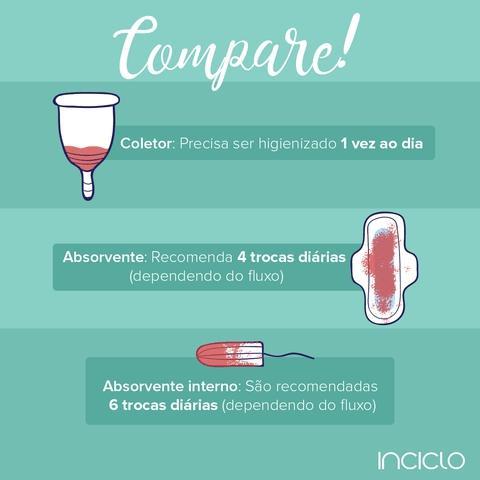 Imagem de Coletor Menstrual InCiclo Modelo B (Indicado para mulheres sem filhos e com menos de 30 anos)