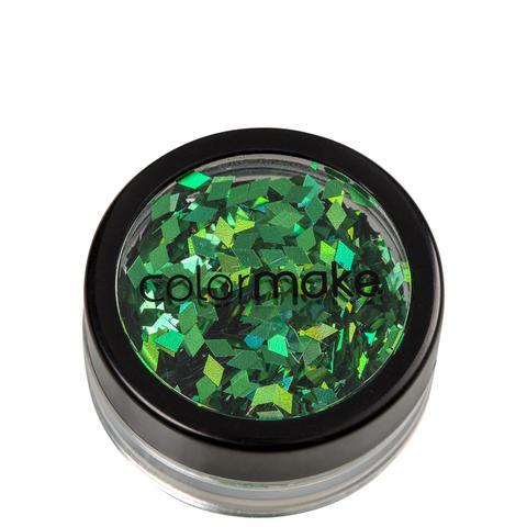 Imagem de Colormake Shine Formatos Diamante Verde - Glitter 2g