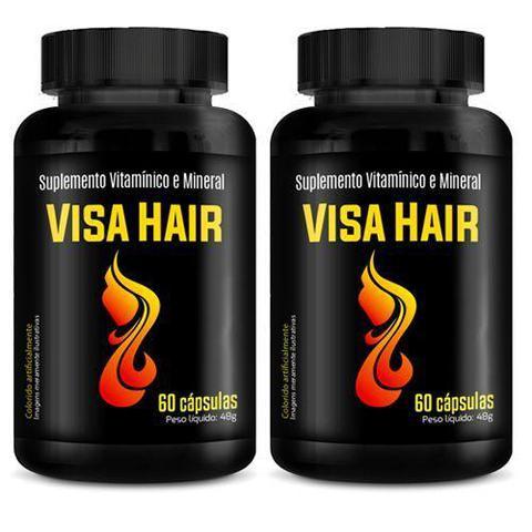 Imagem de Combo 2 - Visa Hair - 60 Cápsulas - Intlab