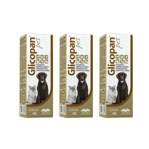 Imagem de Combo 3 unidades Glicopan Pet - 250 ml