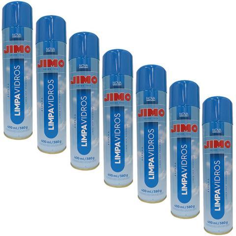 Imagem de Combo 7un Jimo Limpa Vidros Spray 400ml