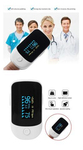 Imagem de Combo Aparelho de Pressão Arterial Digital + Oxímetro Dedo/Pulso Oled + Termômetro Infravermelho