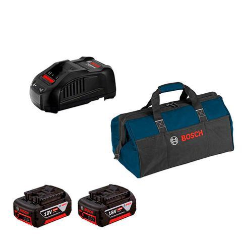 Imagem de Combo Bosch Furadeira/Parafus + Serra Circular + 2 Baterias 18V + Maleta - Bosch